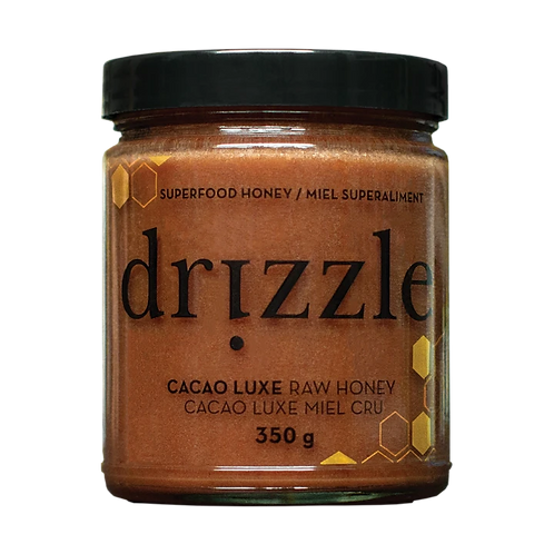 Drizzle: Cacao Luxe Raw Honey - 350g