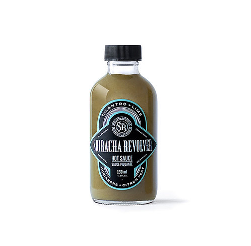 Sriracha Revolver: Cilantro + Lime Hot Sauce