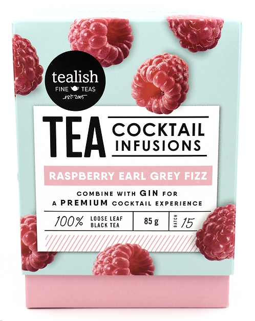 Tealish: Raspberry Early Grey Fizz
