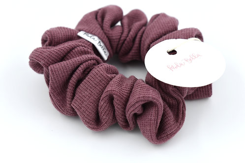 Moda Bella: Plum Scrunchie