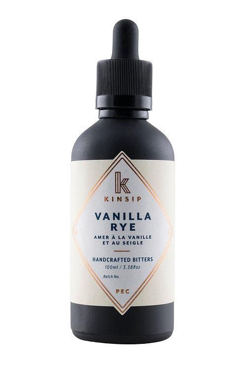 Kinsip: Vanilla Rye Handcrafted Bitters
