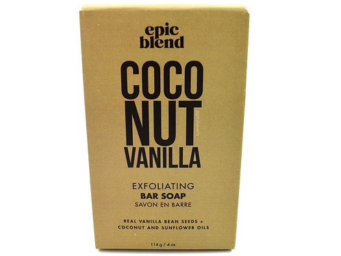 Epic Blend: Coconut Vanilla Exfoliating Bar