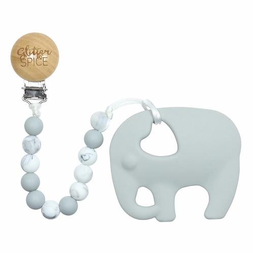 Glitter & Spice: Elephant Teether