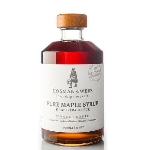 Cosman Webb: Organic Maple Syrup (375mL)