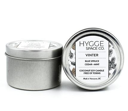Hygge: Vinter Candle (Tin)