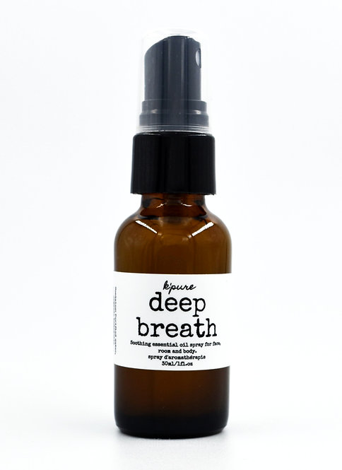 K'Pure: Deep Breath Soothing Essential Oil