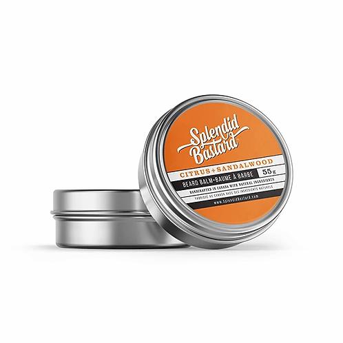 Splendid Bastard: Beard Balm - Citrus + Sandalwood (1oz)