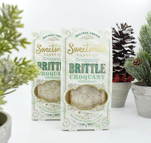 Sweetsmith Candy Co.: Grogg Nog Brittle