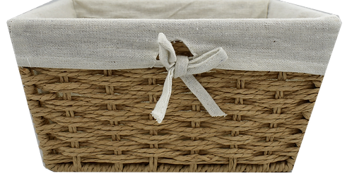 Kraft Wicker Gift Basket