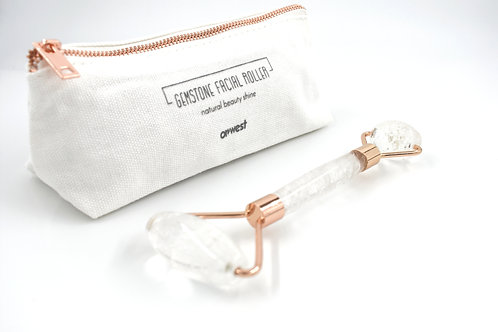 Clear Quartz Gemstone Facial Roller