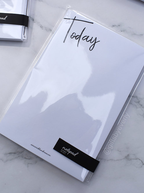 Wrinkle and Crease: Today Notepad