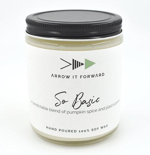 Arrow it Forward: So Basic Candle