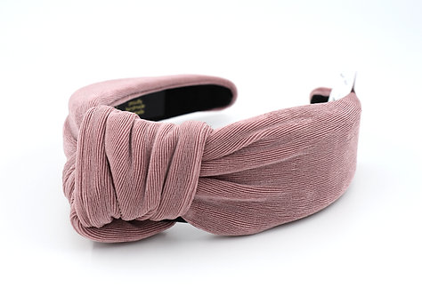 Femme Faire: Textured Knit Headband Mauve