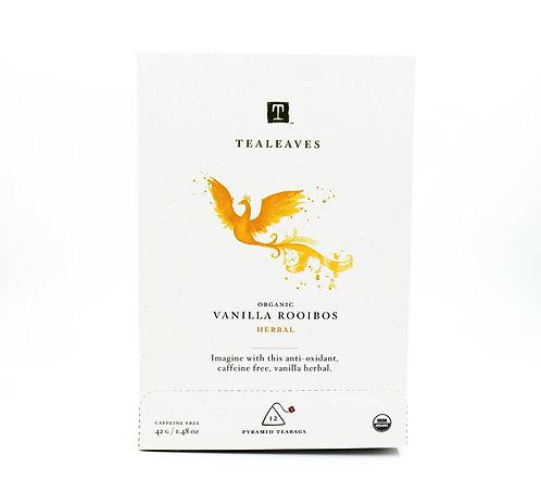 TEALEAVES: Organic Vanilla Rooibos