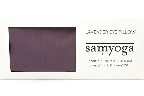 samyoga: Lavender Eye Pillow