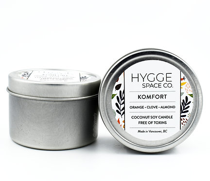 Hygge: Komfort Candle (Tin)