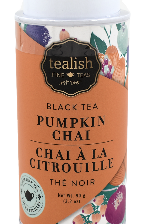 Tealish: Pumpkin Chai