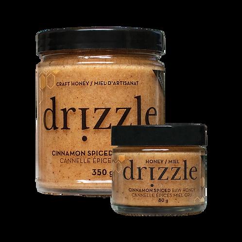 Drizzle: Cinnamon Spiced Raw Honey Mini - 80g