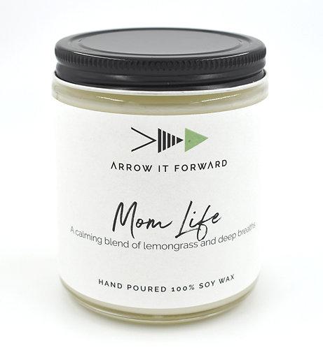 Arrow it Forward: Mom Life Candle