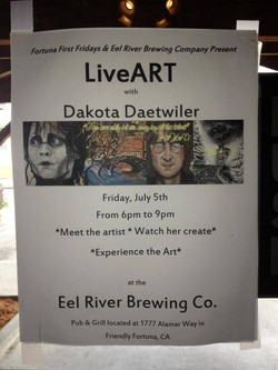 Live Painting at the Brewery!