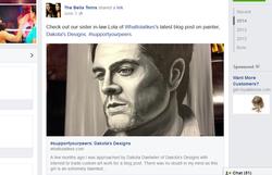 Bella Twins Facebook mention!