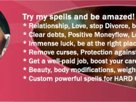 Break up spells in USA.