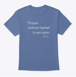 Prayer Tee — Colors