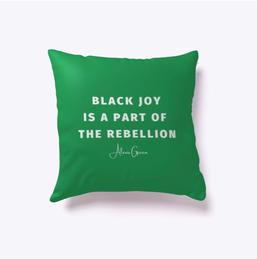 Black Joy Pillow