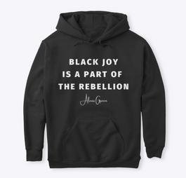 Black Joy Hoodie — Colors