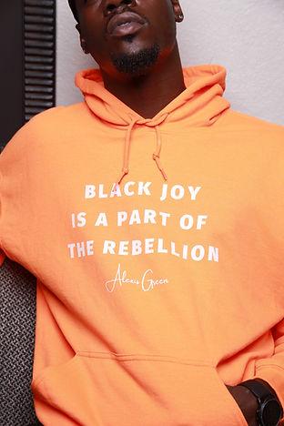 Black Joy Hoodie —Colors