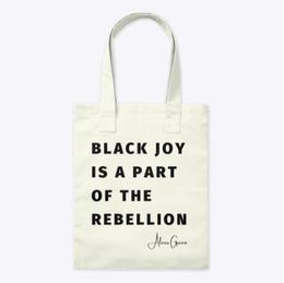 Black Joy Tote