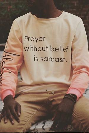 Prayer Sweatshirt