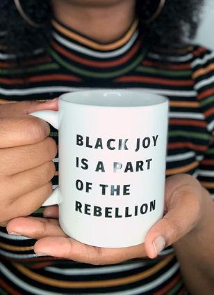 Black Joy Mug