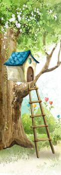 """Готовые фотообои для детской """"Сказочное дерево"""""""