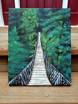 "Bridge to Paradise (8""x10"")"