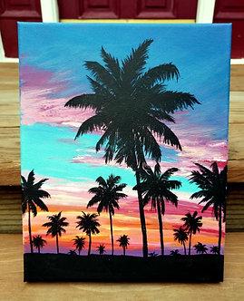"""Florida Sunset (8""""x10"""")"""