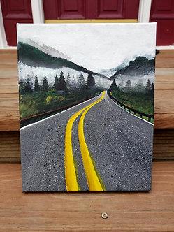 """A Scenic Drive (8""""x10"""")"""