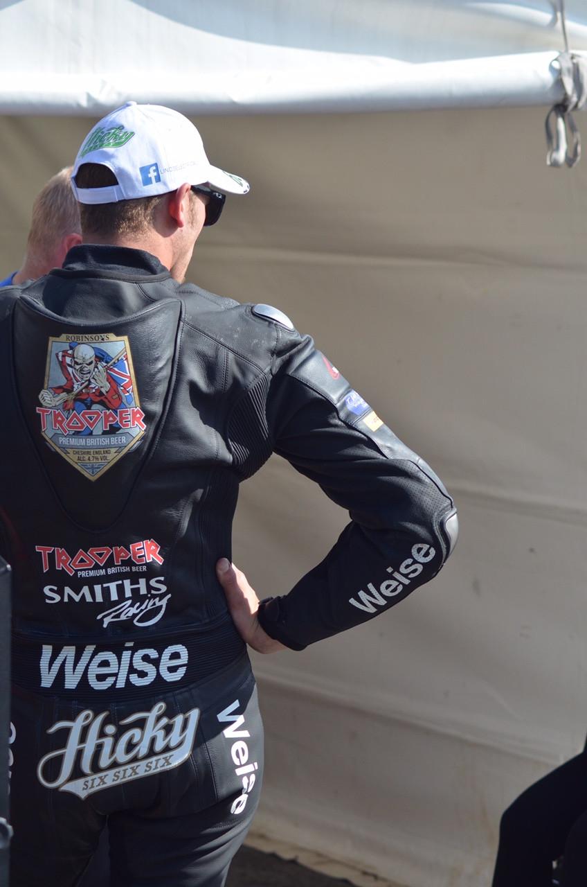 Peter Hickman during IOM TT Practice 2017