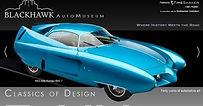 Blackhawk Auto Museum front page