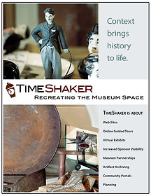 TimeShaker Museum Collateral