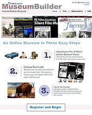 TimeShaker Museum Builder tool