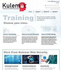 Kulemar Web Security Training Module