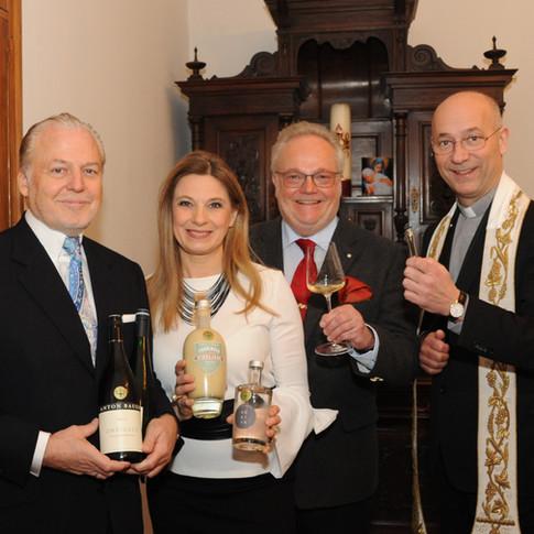 Segnung Jägerball Wein 2018