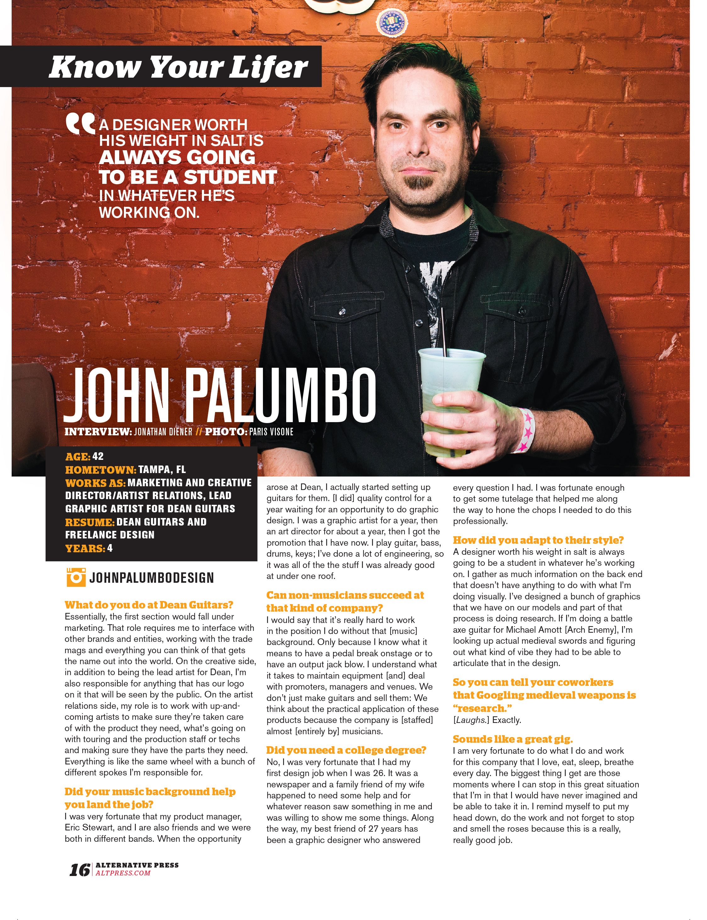AP Profil John Palumbo