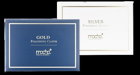 Free Polishing cloth. Mocha Jewellery