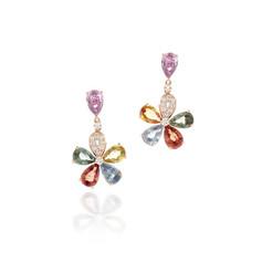 18K金鑲嵌寶石鑽石系列