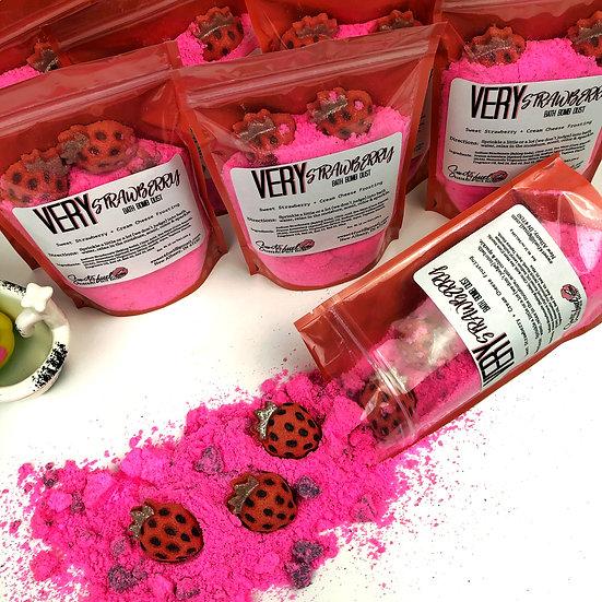 Very Strawberry Bath Bomb Dust