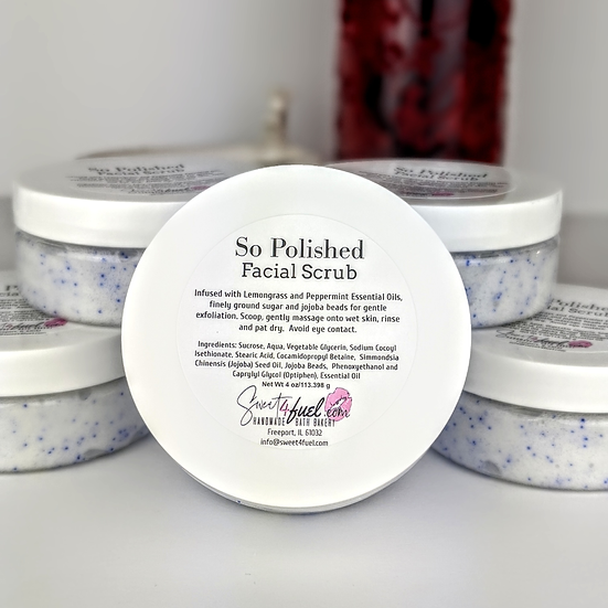 So Polished Facial Scrub