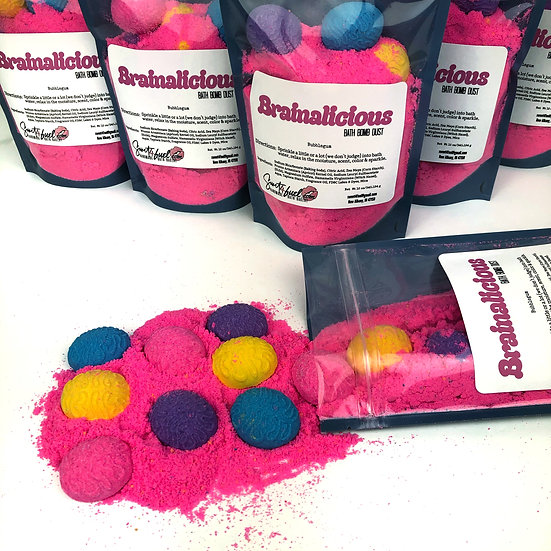 Brainalicious Bath Bomb Dust