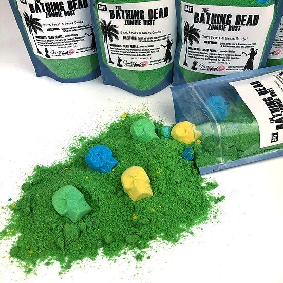 The Bathing Dead Zombie Dust Bath Bomb Dust